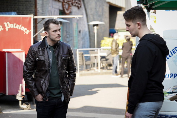 EastEnders actor Tony Clay was worried he and Max Bowden wouldn't get on