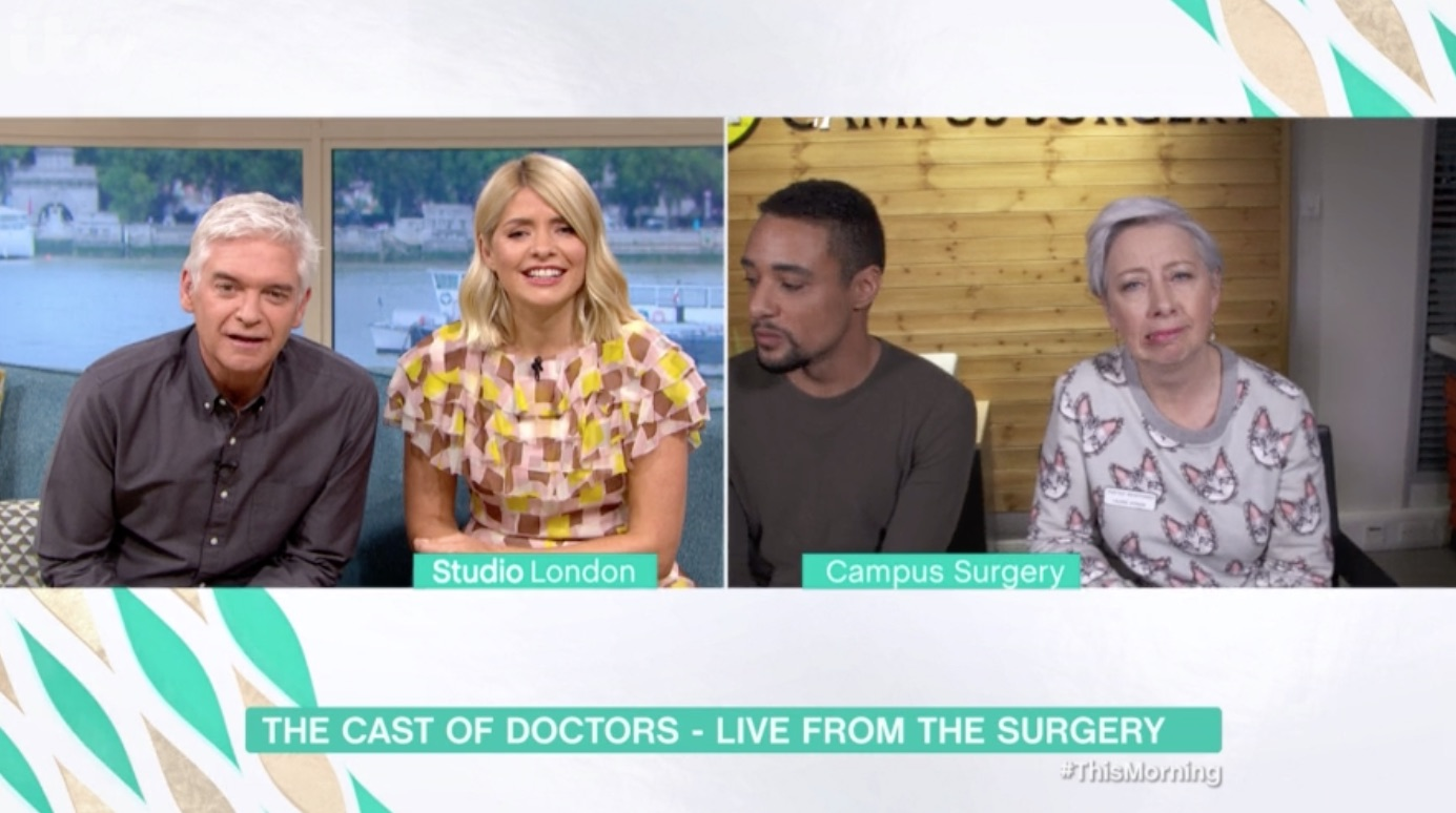 Phillip Schofield stops This Morning interview because of technical difficulties