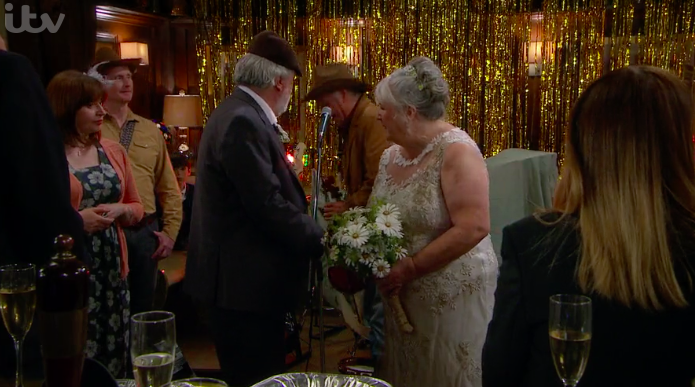 Lisa and Zak get married