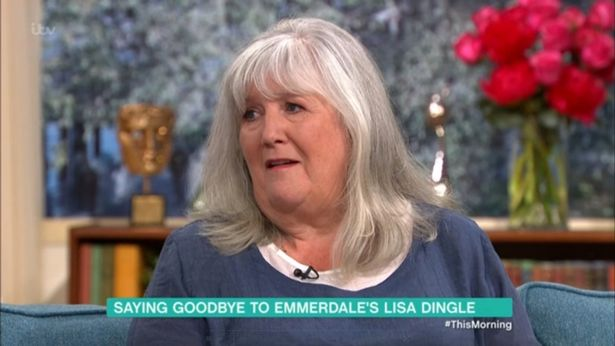 Emmerdale Star Jane Cox Admits Quot The Tears Were Real Quot As border=
