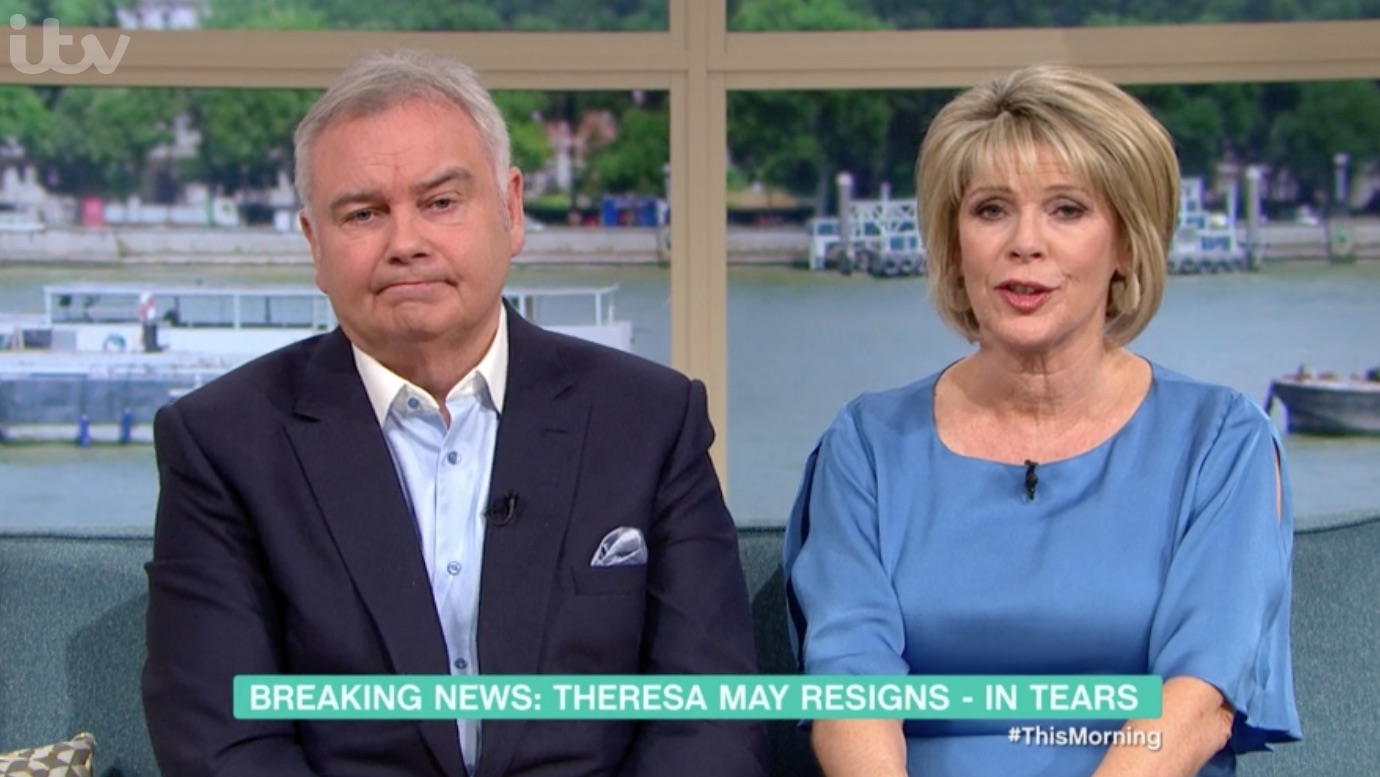 "Eamonn Holmes calls Theresa May ""the worst Prime Minister this country has ever had"""