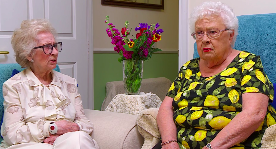 Gogglebox viewers in hysterics as Mary and Marina discuss lesbian sex scenes