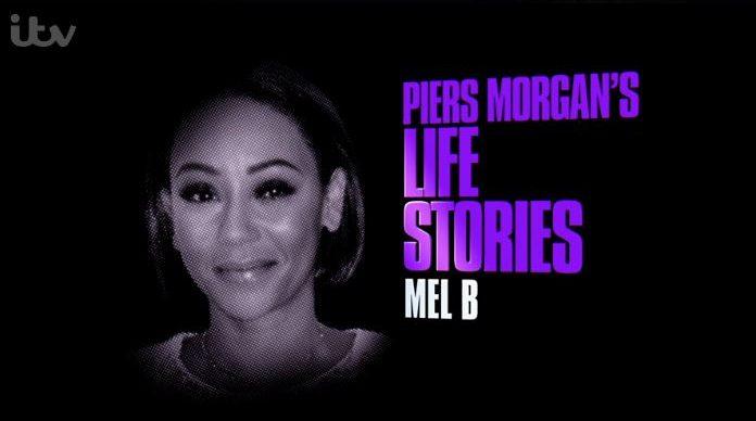Mel B Piers Morgan Title Card