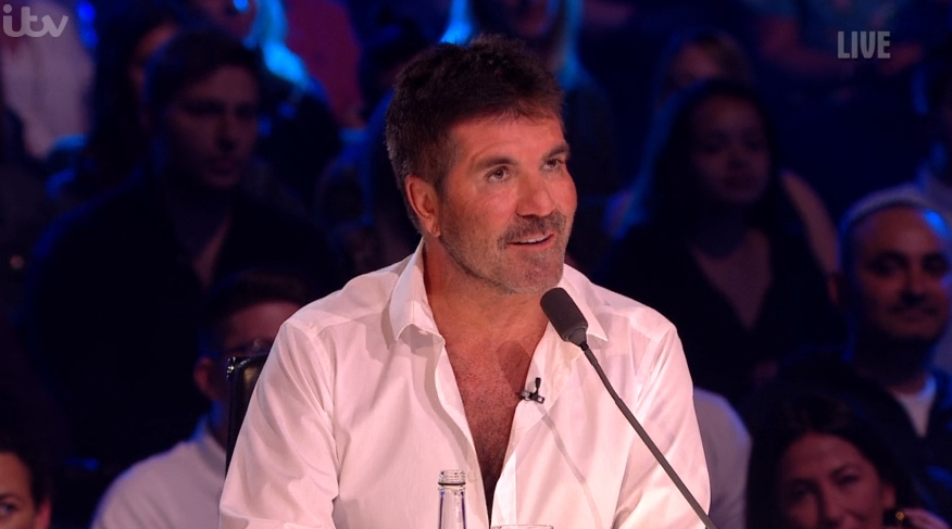 Viewers amazed at Simon Cowell's weight loss on Britain's Got Talent