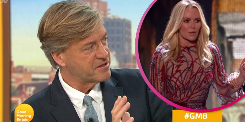 Richard Madeley makes dig at Amanda Holden over reaction to BGT act