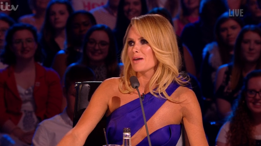BGT viewers divided over Amanda Holden's 'risque' dress