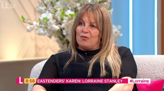 EastEnders Lorraine Stanley on Lorraine Credit: ITV