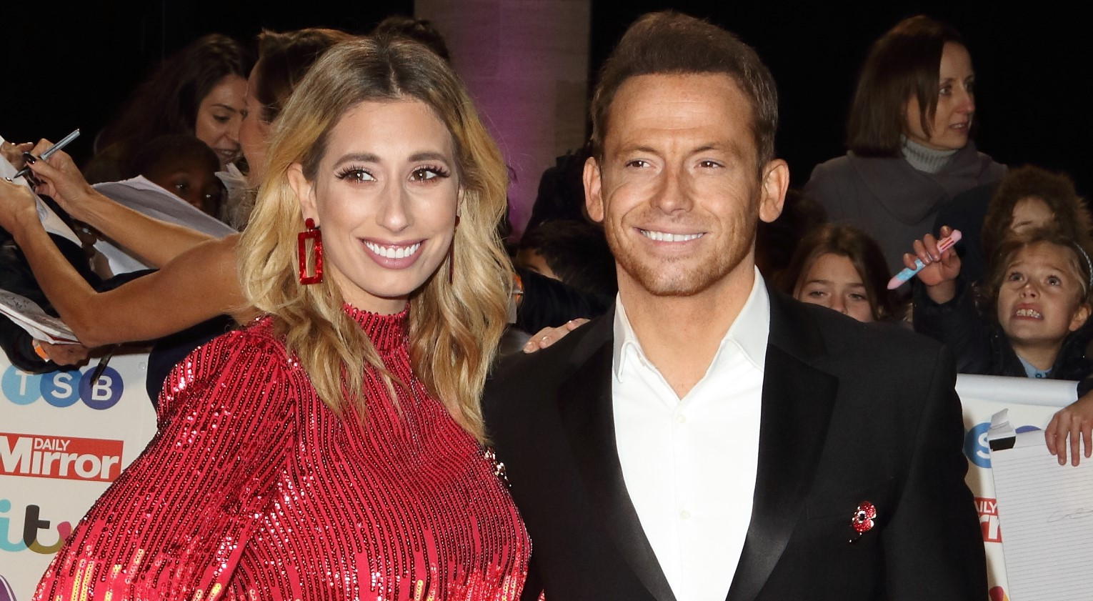 Stacey Solomon shares sweet family pic as she reunites with Joe Swash