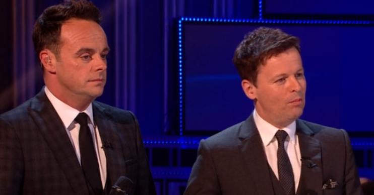 Ant McPartlin and Dec Donnelly on Britain's Got Talent