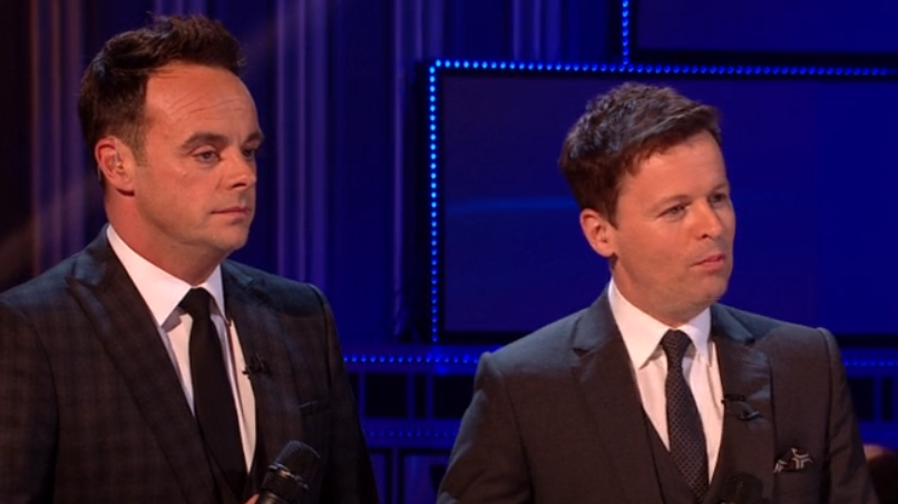 Ant McPartlin pokes fun at Dec Donnelly for gaffe on Britain's Got Talent