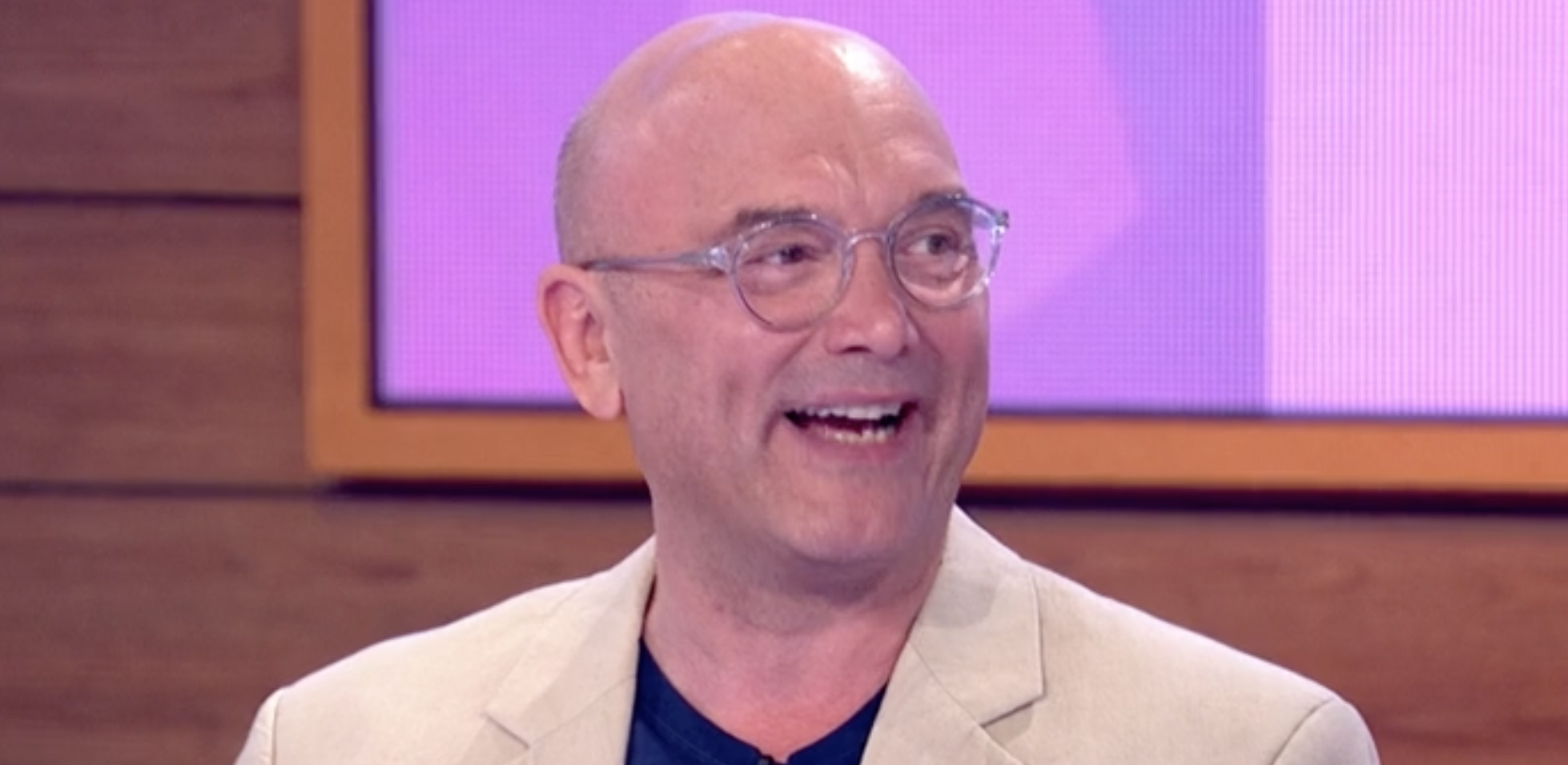 Gregg Wallace tears up as he discusses 'miracle' newborn son Sid