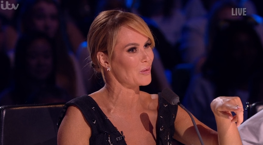Amanda Holden hits back after complaints about her outfits on BGT