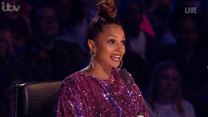 Britain's Got Talent's Alesha Dixon shares cute photo of daughter cradling her baby bump