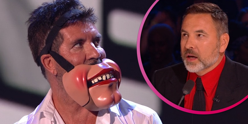 "David Walliams jokes Simon Cowell is ""traumatised"" after storming off Britain's Got Talent"