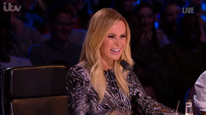 Britain's Got Talent viewers baffled as they spot something 'odd' about Amanda Holden's outfit