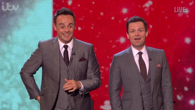 Britain's Got Talent viewers unimpressed after magician X makes Ant and Dec swap places: 'It's Ant first!'