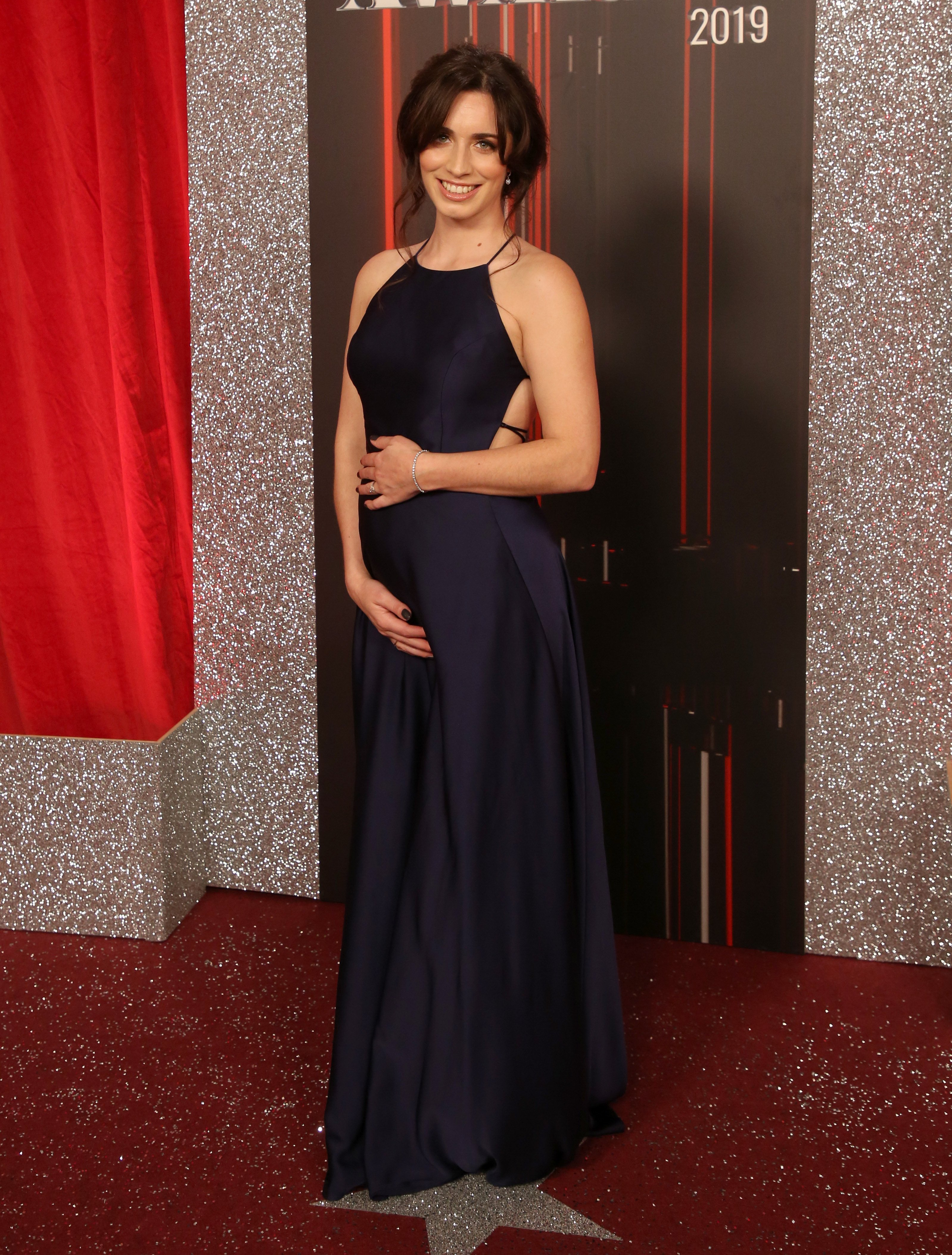 Stars attend the British Soap Awards 2019 at The Lowry in Manchester Pictured: Julia Goulding Ref: SPL5094911 010619 NON-EXCLUSIVE Picture by: SplashNews.com Splash News and Pictures Los Angeles: 310-821-2666 New York: 212-619-2666 London: 0207 644 7656 Milan: 02 4399 8577 photodesk@splashnews.com World Rights