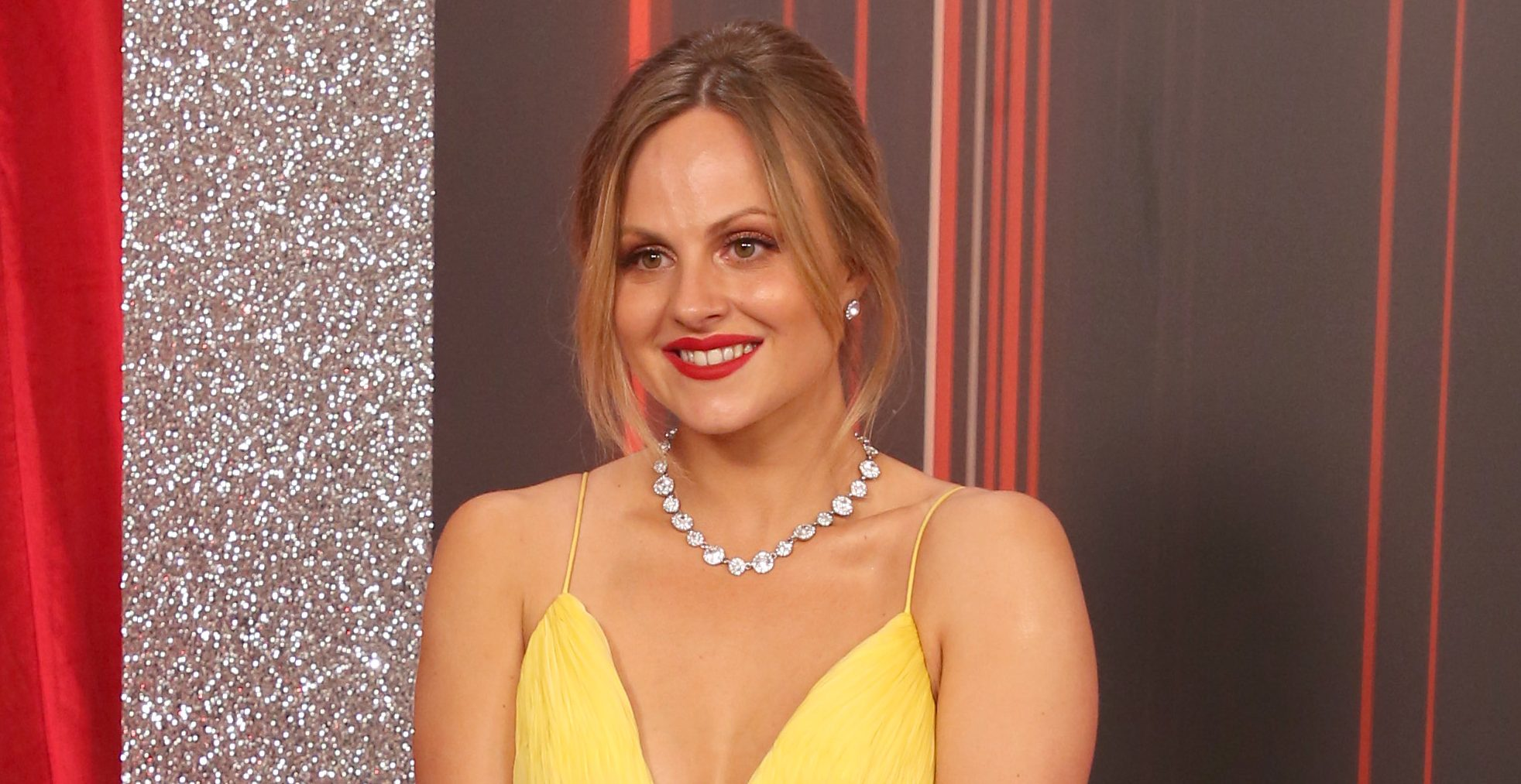 Stars attend the British Soap Awards 2019 at The Lowry in Manchester Pictured: Tina O'Brien Ref: SPL5094913 010619 NON-EXCLUSIVE Picture by: SplashNews.com Splash News and Pictures Los Angeles: 310-821-2666 New York: 212-619-2666 London: 0207 644 7656 Milan: 02 4399 8577 photodesk@splashnews.com World Rights