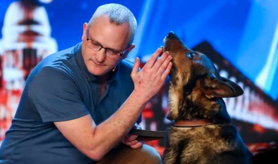 BGT finalist PC Dave Wardell reveals Queen has signed Finn's Law
