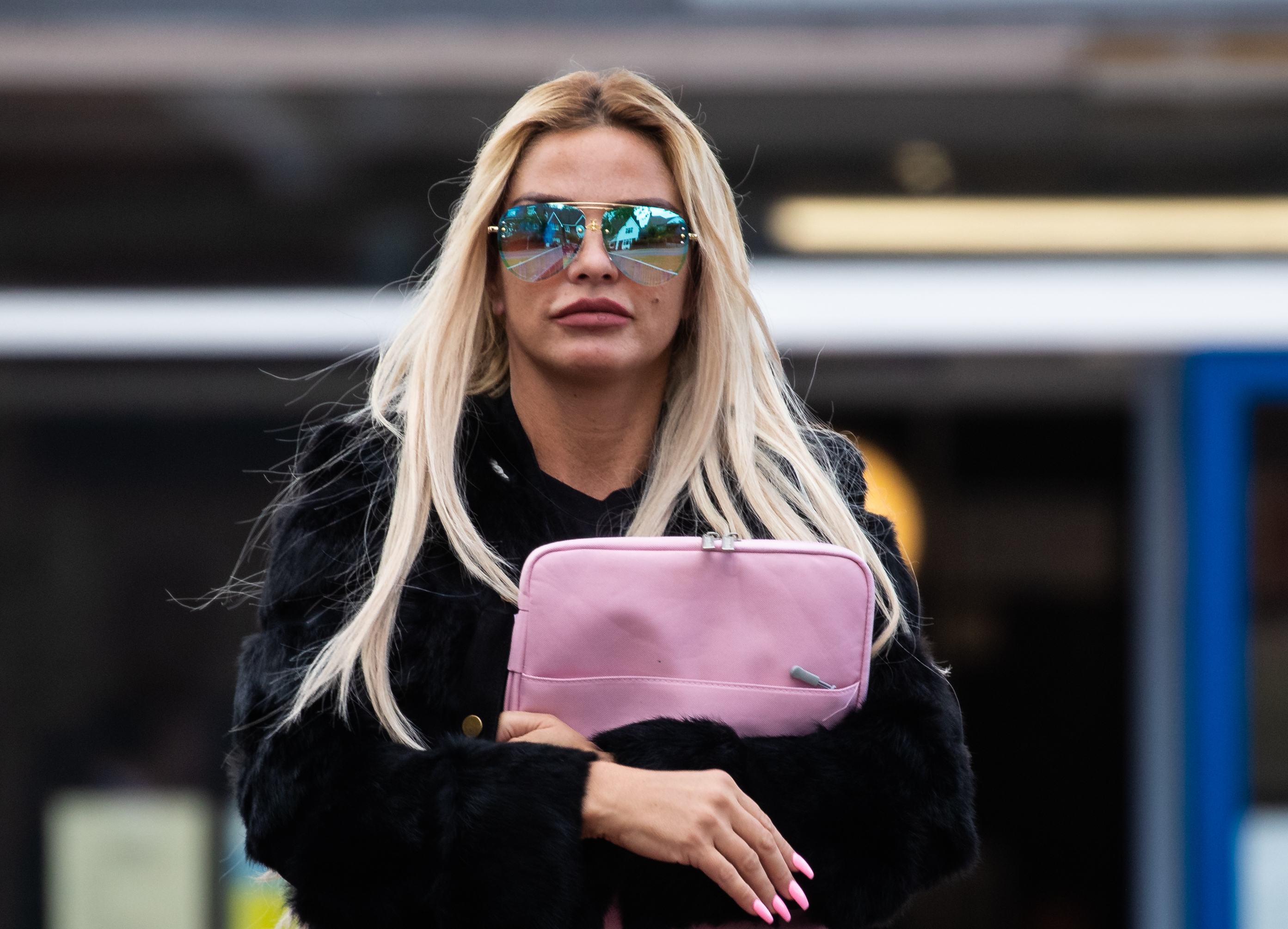 Katie Price pleads guilty to using abusive and threatening behaviour towards ex's girlfriend