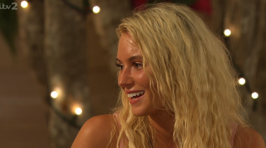 Love Island viewers already fed up with Lucie's 'annoying' catchphrase