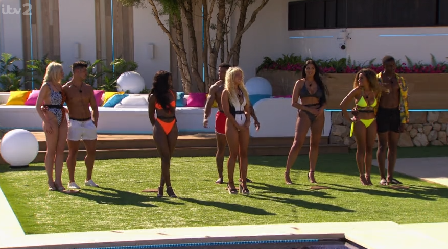 Love Island already at centre of racism storm over coupling process