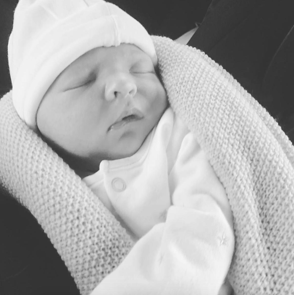 Abbey Clancy new baby