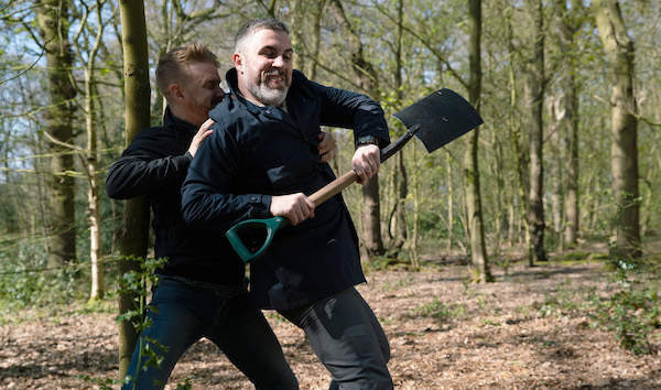 Coronation Street Gary kills Rick