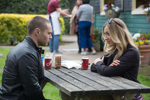 EastEnders SPOILER: Keanu tells Louise about his romance with Sharon?