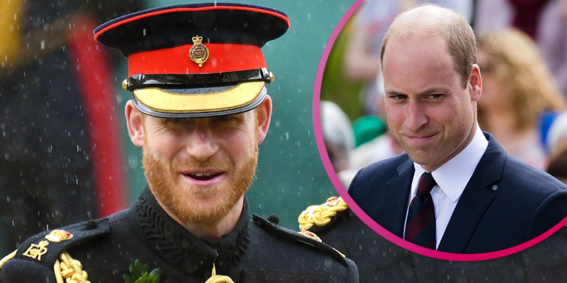 Prince Harry and Prince William pay tribute to D-Day veterans