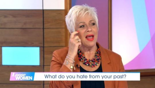 Denise Welch blurts out swear word on Loose Women in rant about Madonna