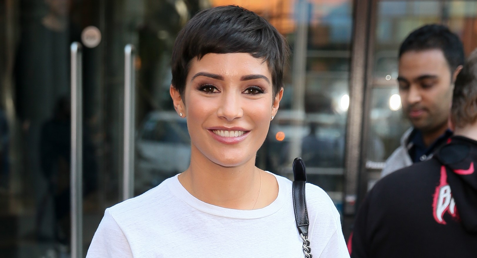 Frankie Bridge shares family spa snap to celebrate her fifth wedding anniversary