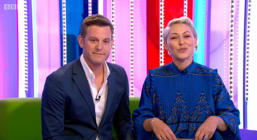 Emma Willis on The One Show