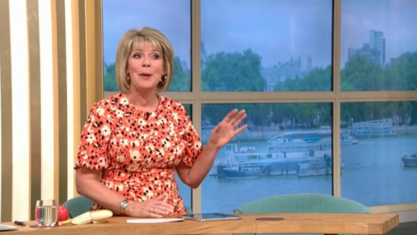Ruth Langsford hosts This Morning alone as Eamonn Holmes gets stuck in traffic