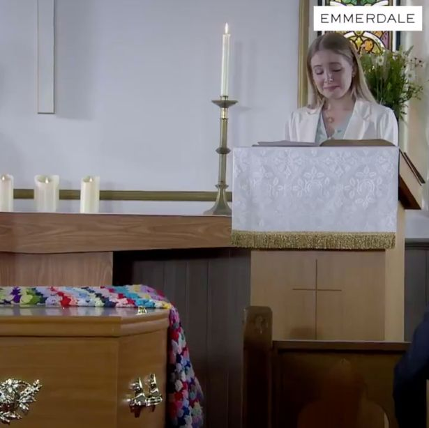 Lisa Dingle funeral