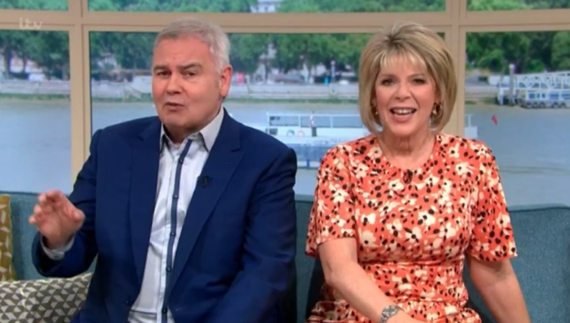 ITV This Morning Ruth Langsford presents solo as Eamonn Holmes is late