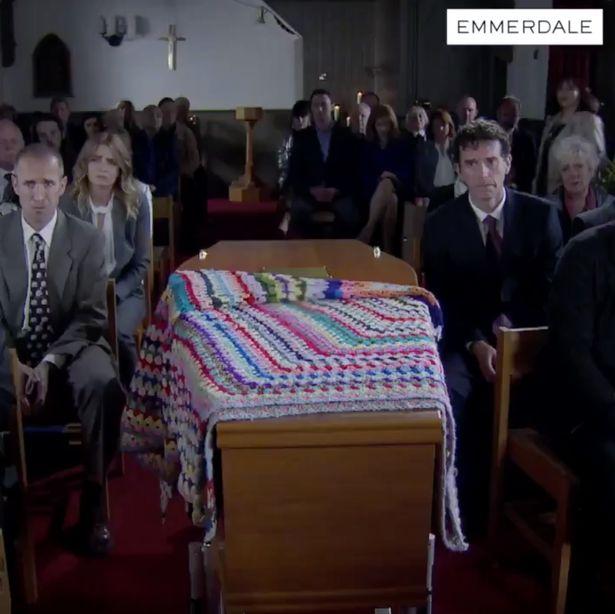 RIP Lisa Dingle funeral