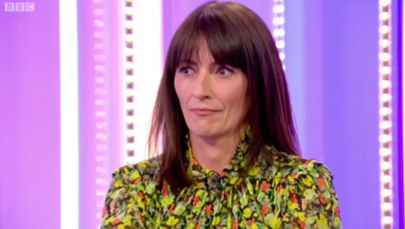 Davina McCall squirms as The One Show unearths embarrassing video from her past