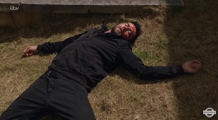 Emmerdale Ross Barton dead? Credit: ITV/YouTube