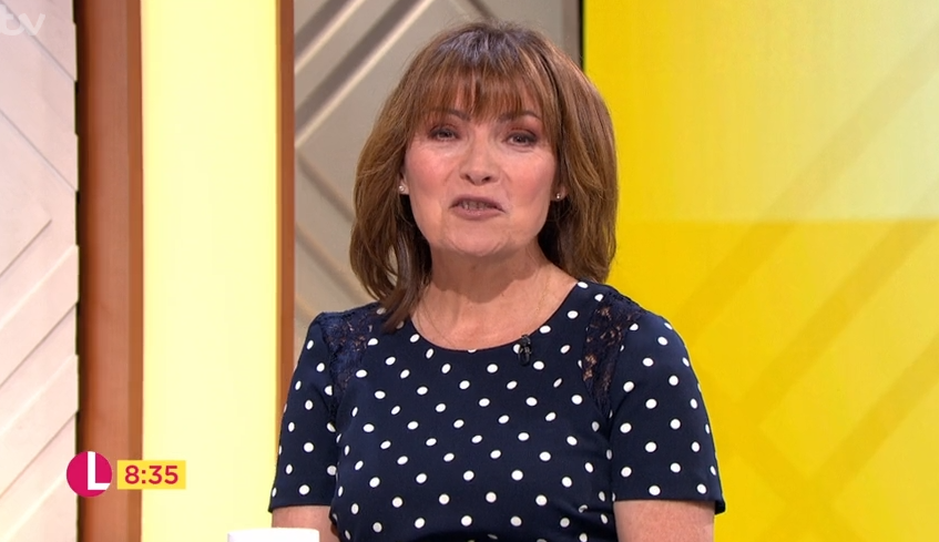 Lorraine Kelly accused of 'throwing shade' at Esther McVey