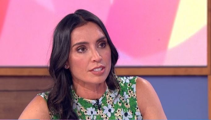 "Christine Lampard confesses she's ""all over the place"" looking after daughter"