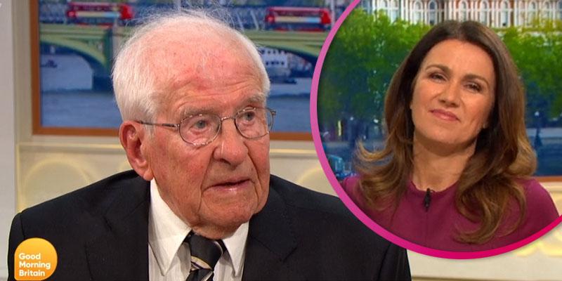 WW2 veteran who flirted with Melania Trump calls Susanna Reid 'beautiful'