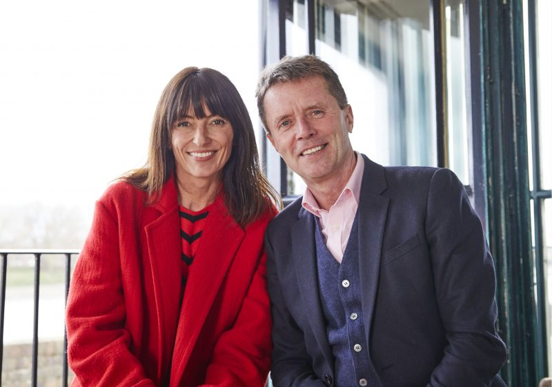 Long Lost Family hosts Davina McCall and Nicky Campbel (Credit: ITV1)
