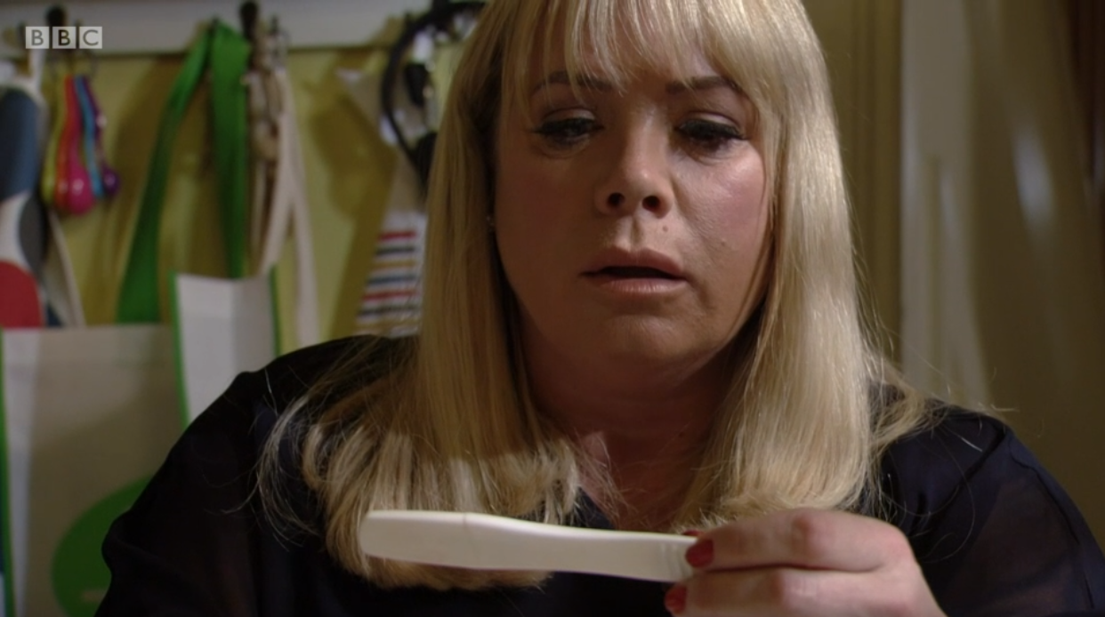 EastEnders viewers upset as Sharon Mitchell discovers she's pregnant