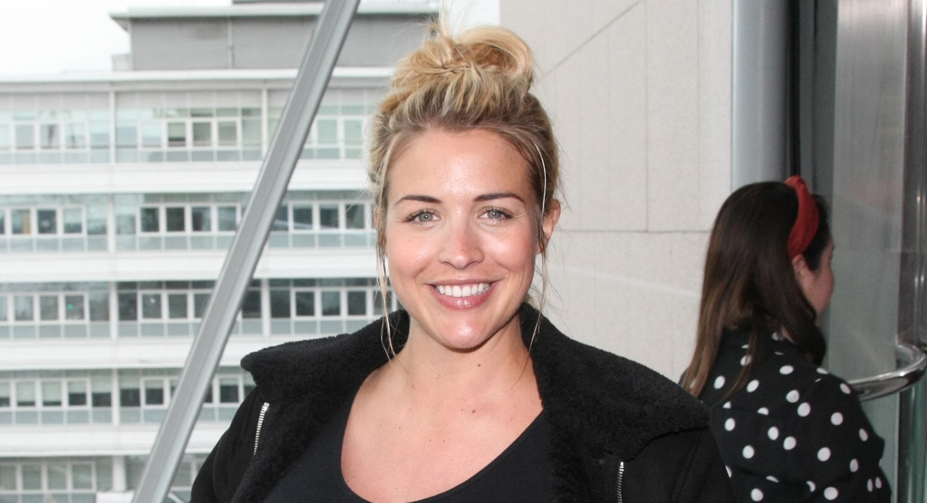 Pregnant Gemma Atkinson reunites with 'old school' Hollyoaks cast