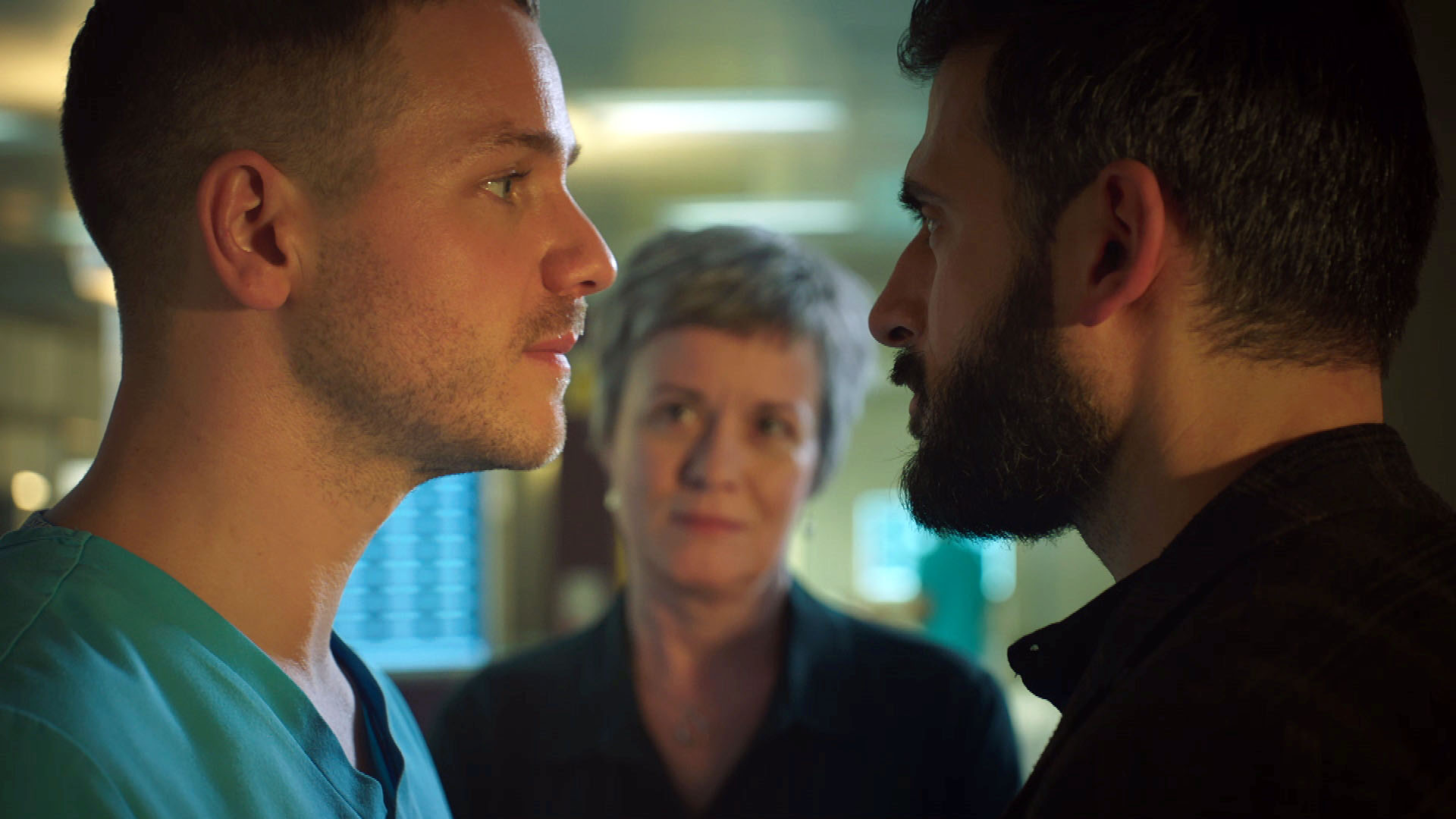 Holby City SPOILER: Isaac's reign of terror leaves someone fighting for their life tonight