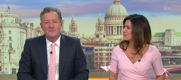 Piers Morgan hints he could leave Good Morning Britain in January