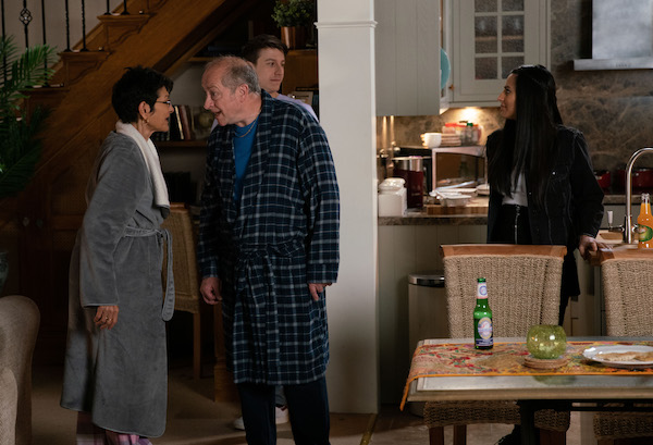 Coronation Street SPOILER: Geoff's mind games continue as Yasmeen fears for her life