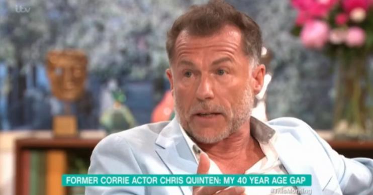 Chris Quinten This Morning Credit: ITV
