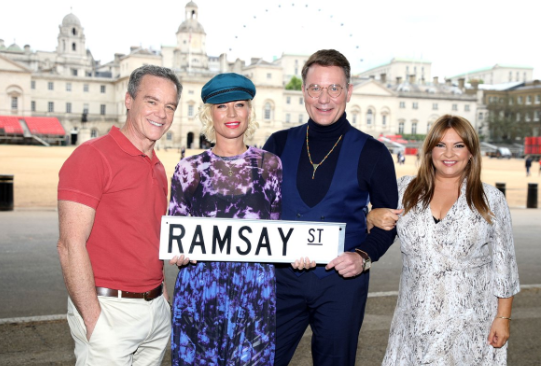 Denise van Outen and Richard Arnold have joined Neighbours